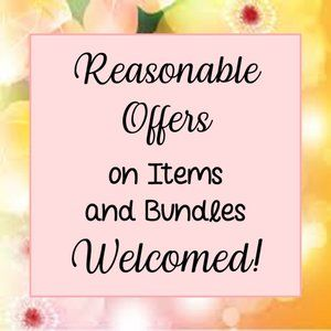 Reasonable Offers Welcomed (Not for Sale)